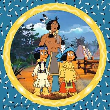 08000 Kinderpuzzle Yakari, der tapfere Indianer von Ravensburger 2