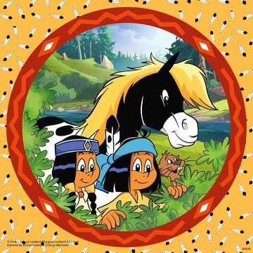 08000 Kinderpuzzle Yakari, der tapfere Indianer von Ravensburger 4