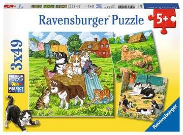 08002 Kinderpuzzle Süße Katzen und Hunde von Ravensburger 1
