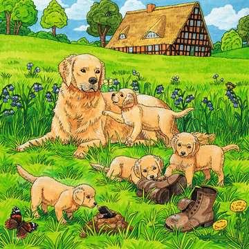 08002 Kinderpuzzle Süße Katzen und Hunde von Ravensburger 2