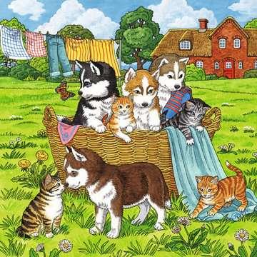 Süße Katzen und Hunde Puzzle;Kinderpuzzle - Bild 4 - Ravensburger