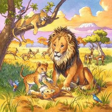 Wild Animals              3x49p Puslespil;Puslespil for børn - Billede 3 - Ravensburger