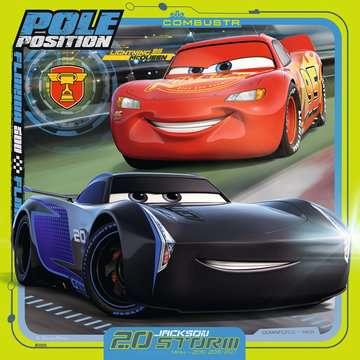 Disney Pixar Cars 3, 3 x 49pc Puslespil;Puslespil for børn - Billede 4 - Ravensburger