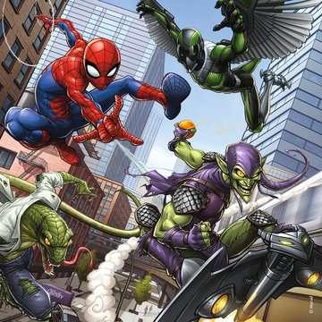 Spider-Man 3x49pc Puzzles Puzzles;Children s Puzzles - image 4 - Ravensburger