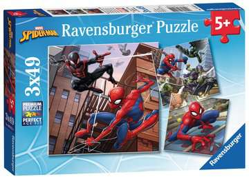 Spider-Man 3x49pc Puzzles Puzzles;Children s Puzzles - image 5 - Ravensburger