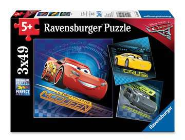 CARS 3 Jigsaw Puzzles;Children s Puzzles - image 1 - Ravensburger