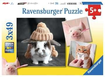 Funny Animal Portraits Jigsaw Puzzles;Children s Puzzles - image 1 - Ravensburger