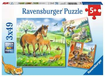 Cuddle Time Jigsaw Puzzles;Children s Puzzles - image 1 - Ravensburger