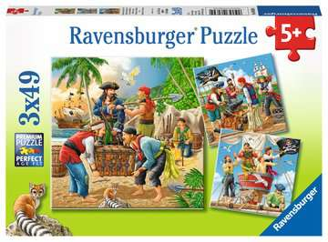 Adventure on the High Seas Puslespil;Puslespil for børn - Billede 1 - Ravensburger