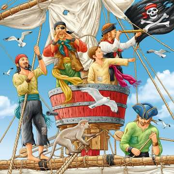 Adventure on the High Seas Puslespil;Puslespil for børn - Billede 3 - Ravensburger