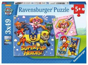 Super Pups power! Puslespil;Puslespil for børn - Billede 1 - Ravensburger