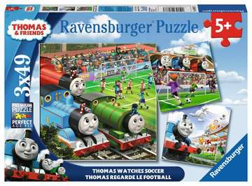 Thomas Watches Soccer Jigsaw Puzzles;Children s Puzzles - image 1 - Ravensburger