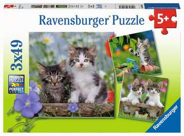Tiger Kittens Jigsaw Puzzles;Children s Puzzles - image 1 - Ravensburger