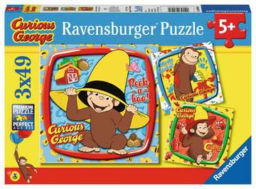 Curious George and Friends Jigsaw Puzzles;Children s Puzzles - image 1 - Ravensburger