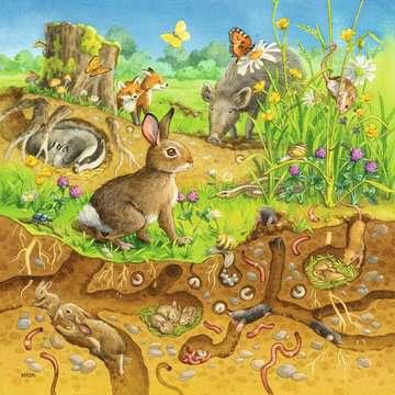08050 Kinderpuzzle Tiere in ihren Lebensräumen von Ravensburger 4