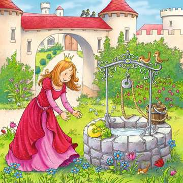 Rapunzel, Little Red Riding Hood, and The Frog Prince Jigsaw Puzzles;Children s Puzzles - image 4 - Ravensburger