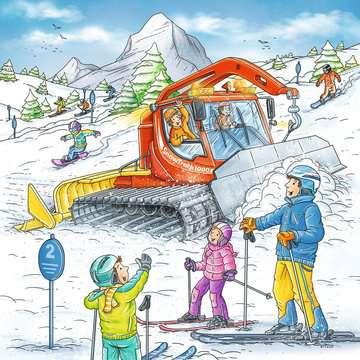 08052 Kinderpuzzle Auf der Skipiste von Ravensburger 2