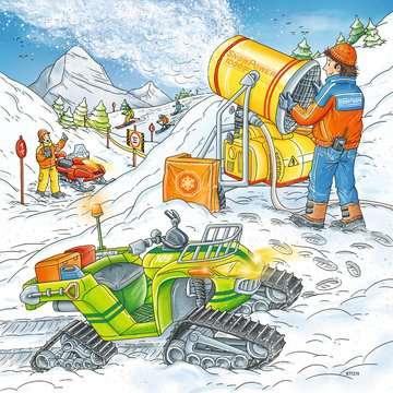 08052 Kinderpuzzle Auf der Skipiste von Ravensburger 3