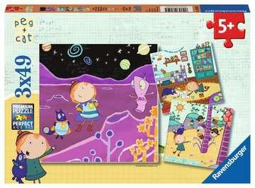 Peg + Cat Puzzles;Puzzle Infantiles - imagen 1 - Ravensburger