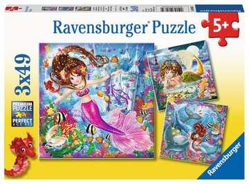 08063 Kinderpuzzle Bezaubernde Meerjungfrauen von Ravensburger 1