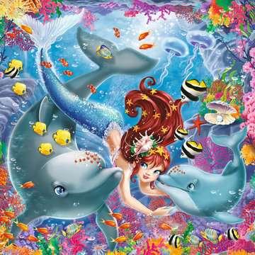 08063 Kinderpuzzle Bezaubernde Meerjungfrauen von Ravensburger 3