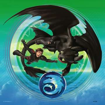 How to train your Dragon Puslespil;Puslespil for børn - Billede 4 - Ravensburger