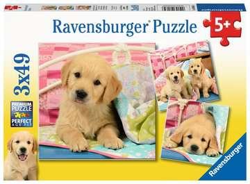 Cute Puppy Dogs Puslespil;Puslespil for børn - Billede 1 - Ravensburger