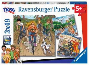 08066 Kinderpuzzle Abenteuer mit TKKG von Ravensburger 1