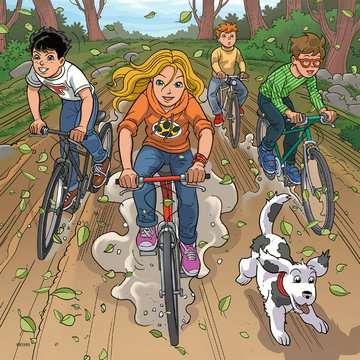 08066 Kinderpuzzle Abenteuer mit TKKG von Ravensburger 2