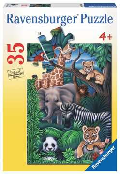 Animal Kingdom Jigsaw Puzzles;Children s Puzzles - image 1 - Ravensburger