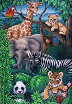 Animal Kingdom Jigsaw Puzzles;Children s Puzzles - image 2 - Ravensburger