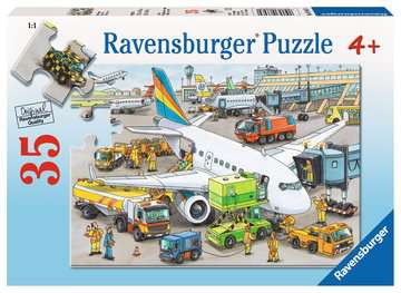 Busy Airport Jigsaw Puzzles;Children s Puzzles - image 1 - Ravensburger