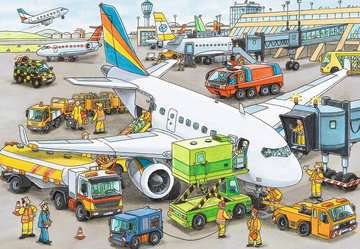 Busy Airport Jigsaw Puzzles;Children s Puzzles - image 2 - Ravensburger