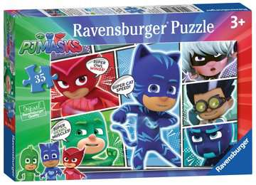 PJ Masks 35pc Puzzles;Children s Puzzles - image 1 - Ravensburger