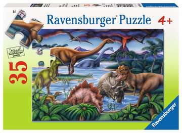 Dinosaur Playground Jigsaw Puzzles;Children s Puzzles - image 1 - Ravensburger