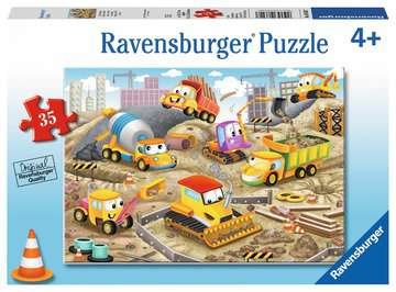 Raise the Roof! Jigsaw Puzzles;Children s Puzzles - image 1 - Ravensburger