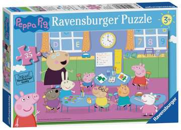 Peppa Pig Classroom Fun 35pc Puzzles;Children s Puzzles - image 1 - Ravensburger