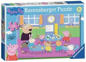 Peppa Pig Classroom Fun 35pc Puzzles;Children s Puzzles - image 1 - Ravensburger