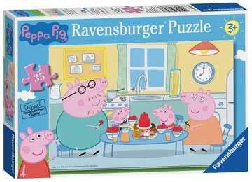 Peppa Pig Family Time 35pc Puzzles;Children s Puzzles - image 1 - Ravensburger