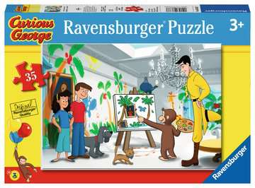 Look Curious George! Jigsaw Puzzles;Children s Puzzles - image 1 - Ravensburger