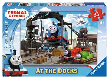 Thomas & Friends: At the Docks Jigsaw Puzzles;Children s Puzzles - image 1 - Ravensburger