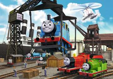 Thomas & Friends: At the Docks Jigsaw Puzzles;Children s Puzzles - image 2 - Ravensburger