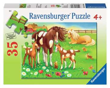 Cute Horses Jigsaw Puzzles;Children s Puzzles - image 1 - Ravensburger
