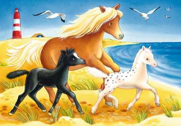 Cute Horses Jigsaw Puzzles;Children s Puzzles - image 2 - Ravensburger