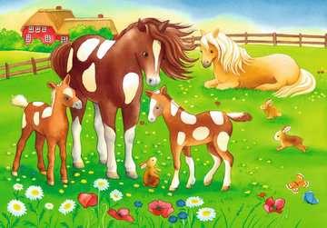 Cute Horses Jigsaw Puzzles;Children s Puzzles - image 3 - Ravensburger