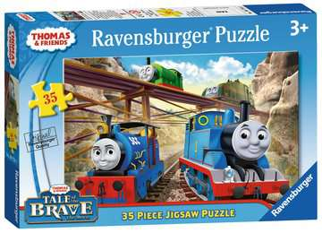 Tale of the Brave Jigsaw Puzzles;Children s Puzzles - image 1 - Ravensburger