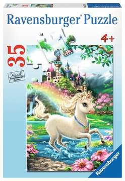 Unicorn Castle Jigsaw Puzzles;Children s Puzzles - image 1 - Ravensburger