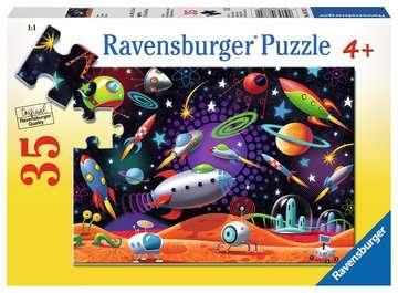 Space Ravensburger Puzzle  35 pz Puzzle;Puzzle per Bambini - immagine 1 - Ravensburger