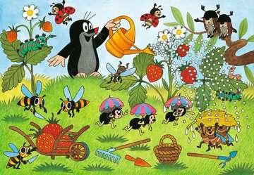 08861 Kinderpuzzle Der Maulwurf im Garten von Ravensburger 2