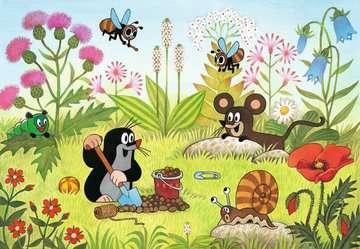08861 Kinderpuzzle Der Maulwurf im Garten von Ravensburger 3